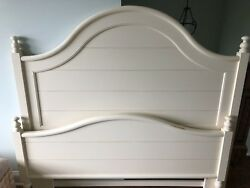 Vintage Stanley Queen Headboard, Footboard And Siderails