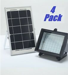 4 Pack Bizlander Solar Light Great For Garden Auto Turn On/off Automatic Home