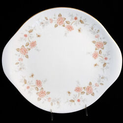 Royal Albert Autumn Sunlight Handled Cake Plate Made In England New Never Used