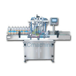 5-1000ML FOUR HEAD LIQUID FILLING MACHINE MINERAL BOTTLE WATER FILLING MACHINE