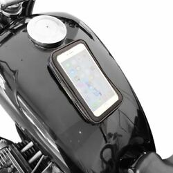 Motorcycle Tank Bag Magnetic Pouch iPhone Holder for Honda ATV BMW 650 Harley