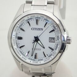 Unused Citizen CITIZEN EXCEED eco-drive radio (Solar * CB010052A (3077