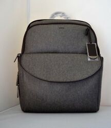 NWT $495 Tumi Women Sinclair Hanne Laptop Business Nylon Leather Backpack 79399