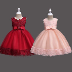 Flower Girl Dress for Wedding Bridesmaid Pageant Formal Party Prom Gown Dresses