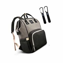 Hafmall Diaper Bag Backpack Waterproof Large Capacity Insulation Travel Back ...