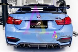 Bmw F82m4 / F87m2- F87 M2- Performance Dtm Style Carbon Rear Wing