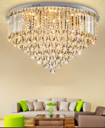 Modern Fashion K9 Crystal Ceiling Lamps Led Chandeliers Lighting Fixture 8692
