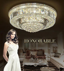 European Court Style Crystal Ceiling Lamps Led Chandeliers Lighting Fixture 9012