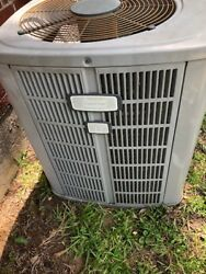 American Standard Allaince 12 used central ac condenser unit 12 seer
