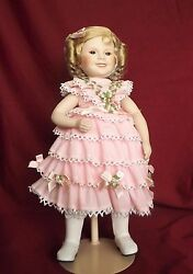 Doll, Vintage,collectible Porcelain. Shirley Temple