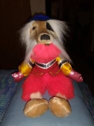 Labyrinth Collectible Rare Vintage 1986 Red Prototype 14 Inch Sir Didymus Plush