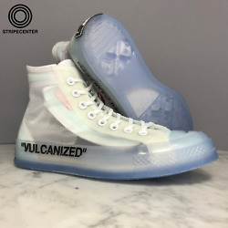 Converse Chuck Taylor All-star Hi And039 Off White Andtrade And039 - White/cone-ice - 162204c-102