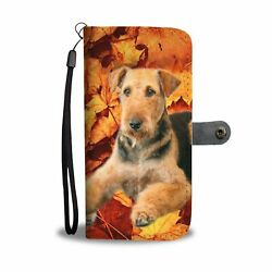 pawsnclawspride- Airedale Terrier Wallet Case