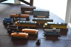 Roundhouse And Atherns Model Train Engines Cars Buildings People And Vehicles