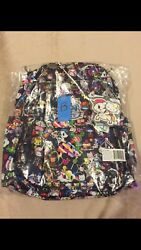 NWT COMPLETE Dream World Be Right Back Tokidoki Jujube BRB Backpack