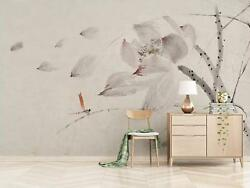 3d Gray Flower Gray 8 Wall Paper Exclusive Mxy Wallpaper Mural Decal Indoor Wall