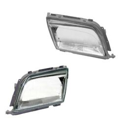 Mercedes R129 500SL 600SL Left and Right Headlight Lens Genuine