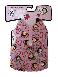 Accademia Betty Boop Hearts Harness Dog Vest  Dress