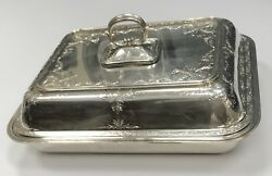 Unknown Designer .990 Sterling Silver Covered Serving Dish