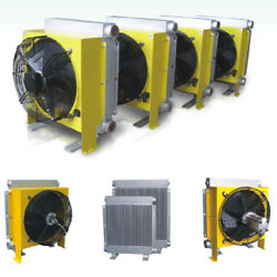 Air Oil Heat Exchanger Coolers Industrial Radiator Electric Hydralic Heavy 220v