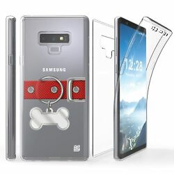 For Galaxy Note 9 Full Coverage Front Back Protector Case Bone