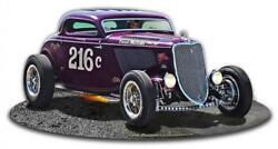 1933 Speed Coupe Car Racing Vintage Classic Automobile Hot Rod Metal Sign Lgb146