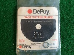 Dupuy 2.5 Cast Cutter Saw Blade Boron Coated Hex Or Pin Drive New