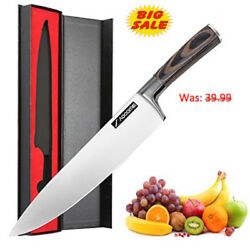 [A8] Sharp Knives for Kitchen8 Inch Japanese Cooking Knives for Fruit and Meat