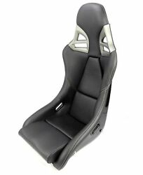 REAL CARBON Sport seat leather BLACK white stitch for Porsche 911 997 GT3-look
