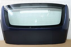 2011 11 BMW Z4 35i E89 CONVERTIBLE REAR WINDSHIELD GLASS PANEL COVER