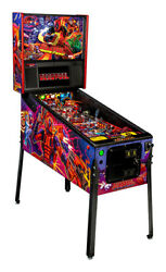 NEW Stern Deadpool PRO Pinball Machine  Free Shipping  In Stock Ships Today!