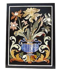 4and039x2and039 Marble Dining Table Top Marquetry Mosaic Inlay Pietradura Outdoor Decor