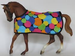BLANKET tack fits Traditional sized Breyer model horses CUSTOM MADE fully lined