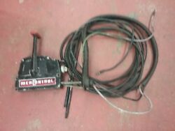Remote controls for an older Mercury outboard motor 12 ft cables
