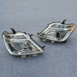 Headlight Assembly Head Lamp LED Turn Light Fit For Nissan Patrol Y62 2010-2016