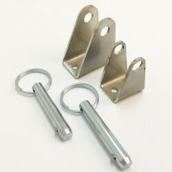Custom Mounting Brackets For Mpc Linear Actuators - Stainless Steel