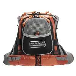 Temple Fork Outfitters Fishing / Wading Chest Back Pack / Tackle Bag - 5 Pocket