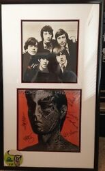 Rolling Stones Tattoo You Autographed Framed Album Mint Condition
