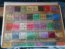 Theater, Movie Ticket Stub Lot 1920's The Jazz Singer, First Talking Picture