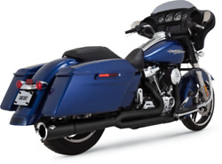 Vance And Hines Black Pro Pipe 2-into-1 Exhaust System 2017-2018 Touring Models