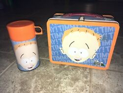 2001 South Park Timmy Metal Lunch Box Thermos Set Collectible Neca Rare