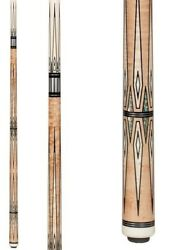 Pechauer Pro Series P21-hc Crown Jewels Pool Cue W/ Free Case And Free Shipping