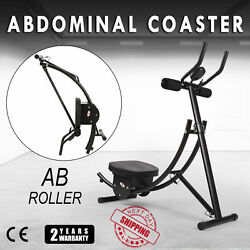 Ab Abdominal Coaster Max Abs Muscle Exercise Machine Glider Fitness Equipment