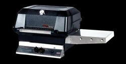 Mhp Grills Jnr Series Grill Head With Stainless Steel Cooking Grids - Lp
