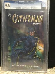 Catwoman Defiant Cgc 9.8 One Shot First Printing 1992
