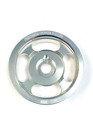 Obx Silver Underdrive Crank Pulley For 2002-2003 Vw Golf Gti Vr6 2.8l Dohc