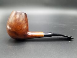 Large Ascorti Smooth Bent Egg Ks Hand Made Pipe