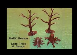 Marx Reissue Dead Trees And Stumps 4 Total    D