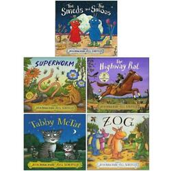 Julia Donaldson Little Gems Collection 3 Books Set Pack Snake Who Came to Stay