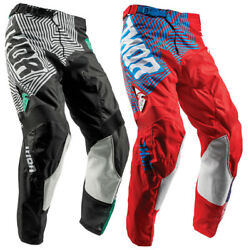 Thor Mens And Youth Pulse Geotec Dirt Bike Pants Mx Atv Offroad Off-road 2018